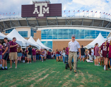 texas a&m football tailgating