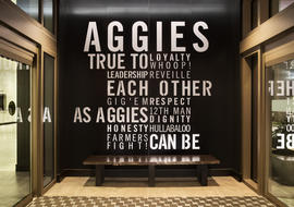 Aggie entrance