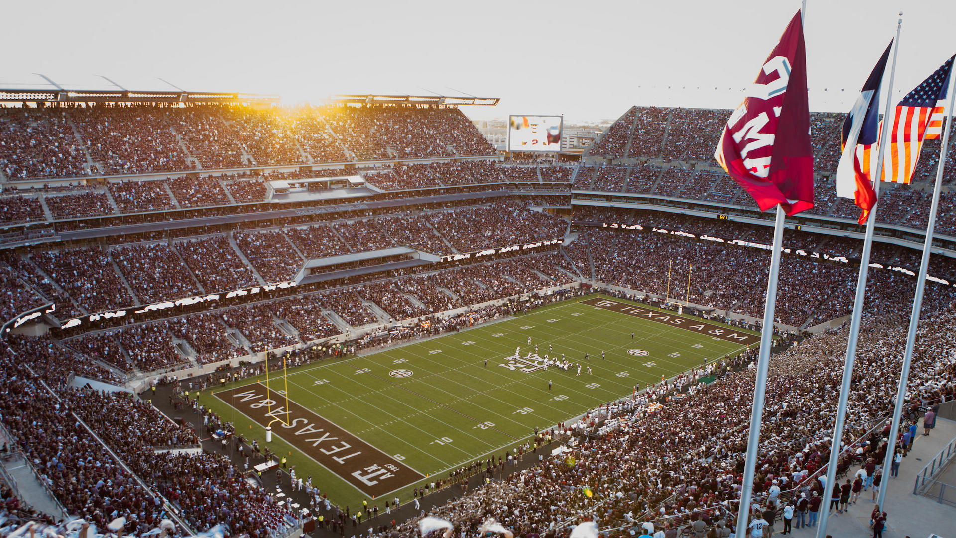 kyle field on gameday