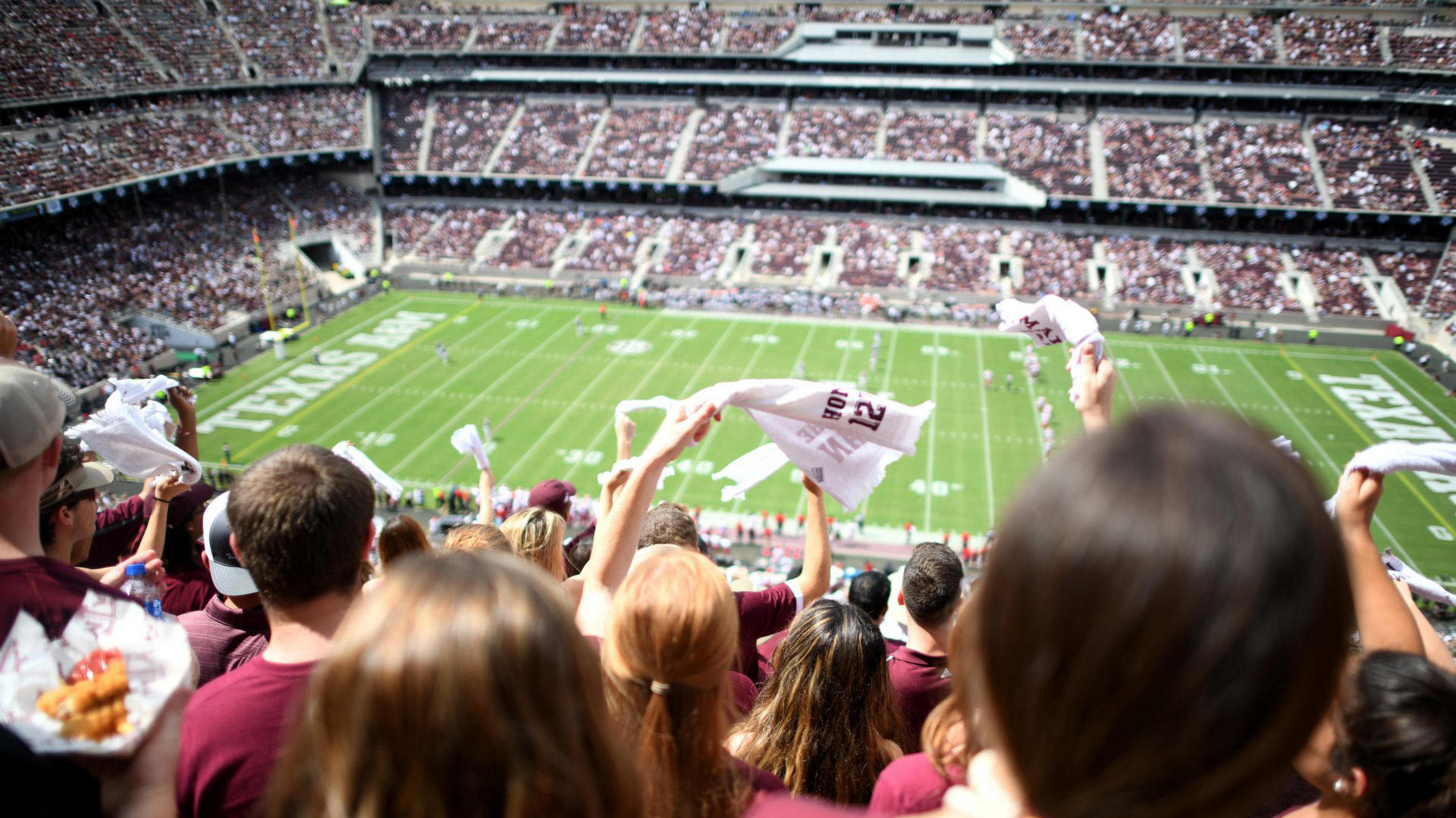 gameday at kyle field